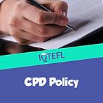 IQTEFL CPD Policy