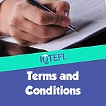 IQTEFL Terms and Conditions