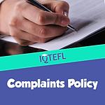 IQTEFL Complaints Policy