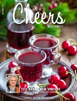 Tess Barr on the Cover of Cheers Magazine