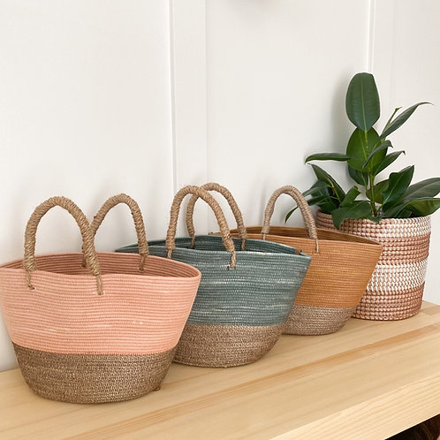 Hand Dyed Totes