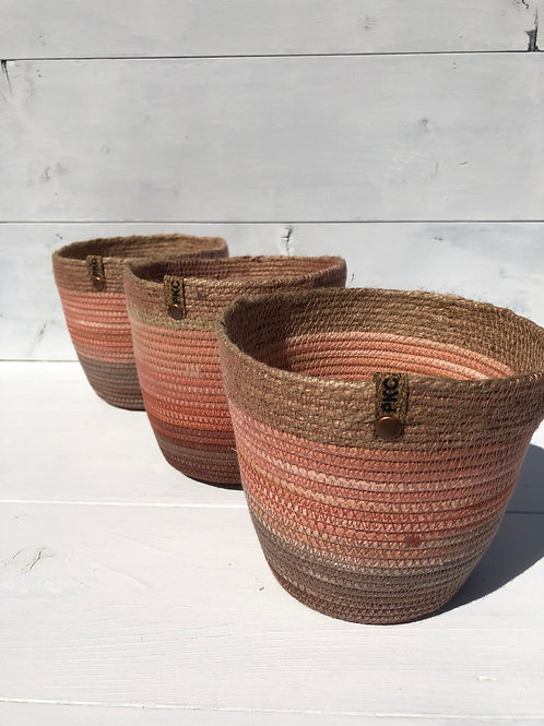 Apricot and Twine Basket (Small)