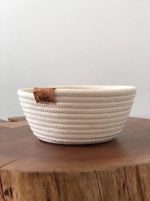 Solid Cream Bowl (Small)