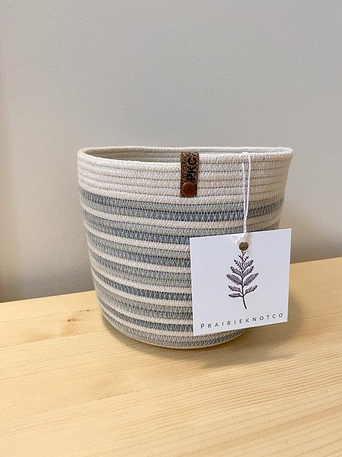 Medium Stripe Basket