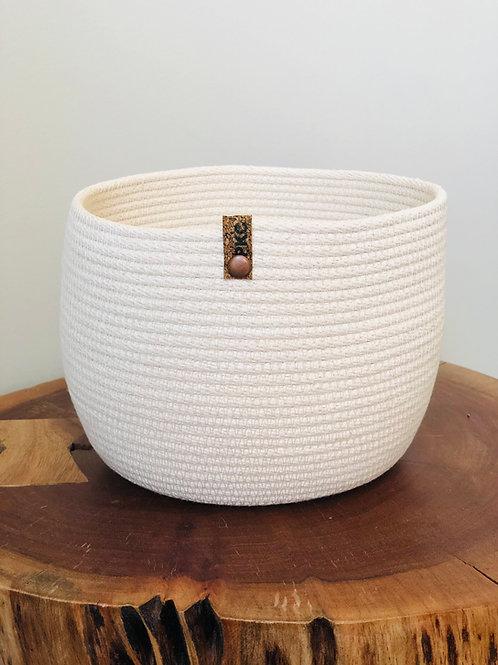 White Basket (Large)