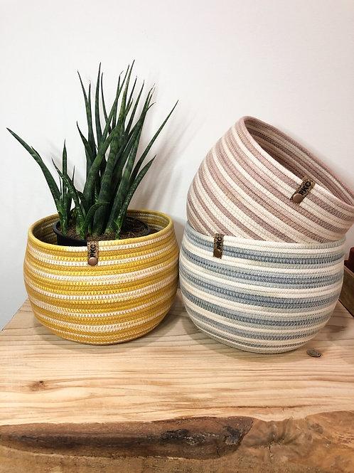 Variegated Rounded Basket