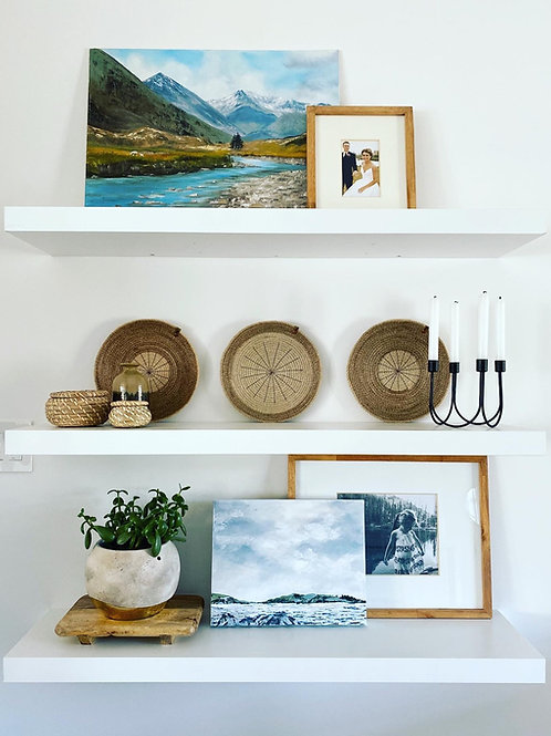 Set of 3 Wall Trays