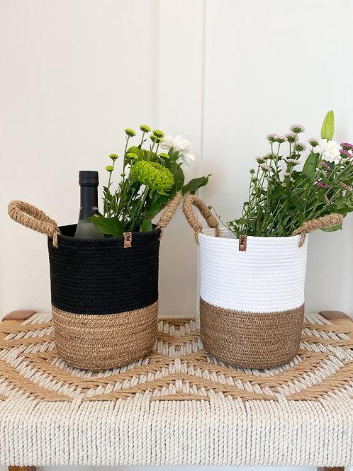 Tall Round Gift Basket
