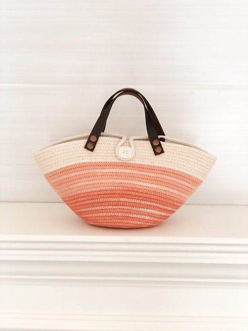 Girls Purse with Leather handles