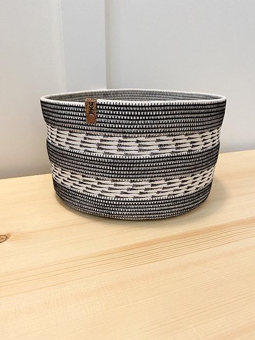 Arrow Stitch Large Basket