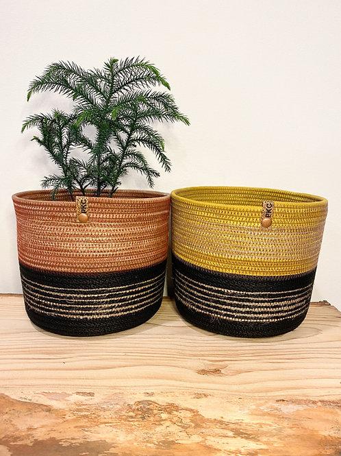 Rich Coloured Baskets (Large)