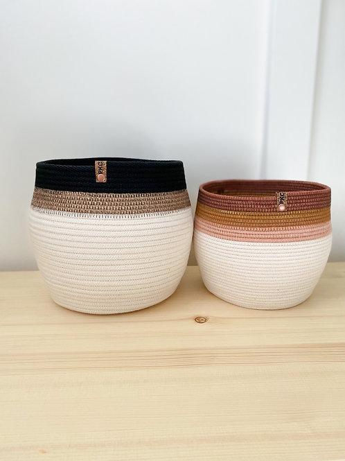 Banded Baskets