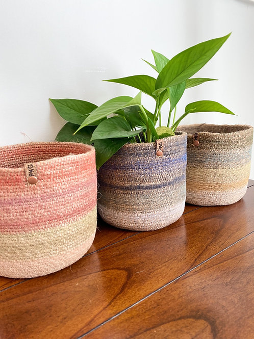 Painted threads Baskets