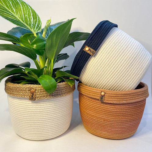 Collared Baskets (Large)