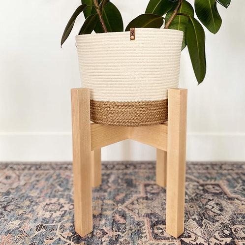Hemp and Cream Basket (X-Large)