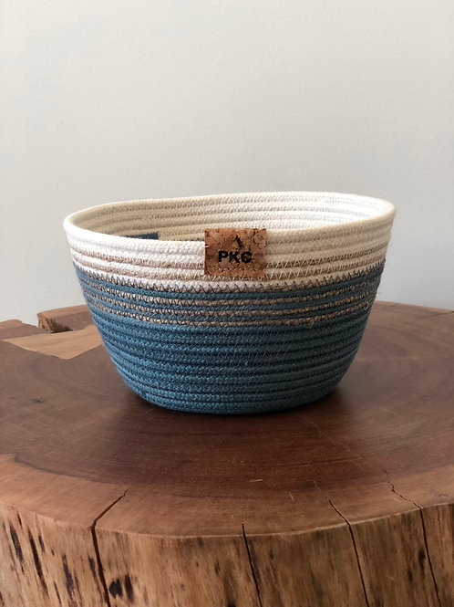 Blue and Cream Bowl (Small)
