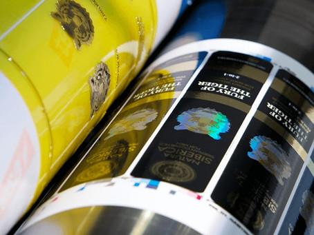 Sigue la tendencia de  la impresión flexográfica con tintas UV