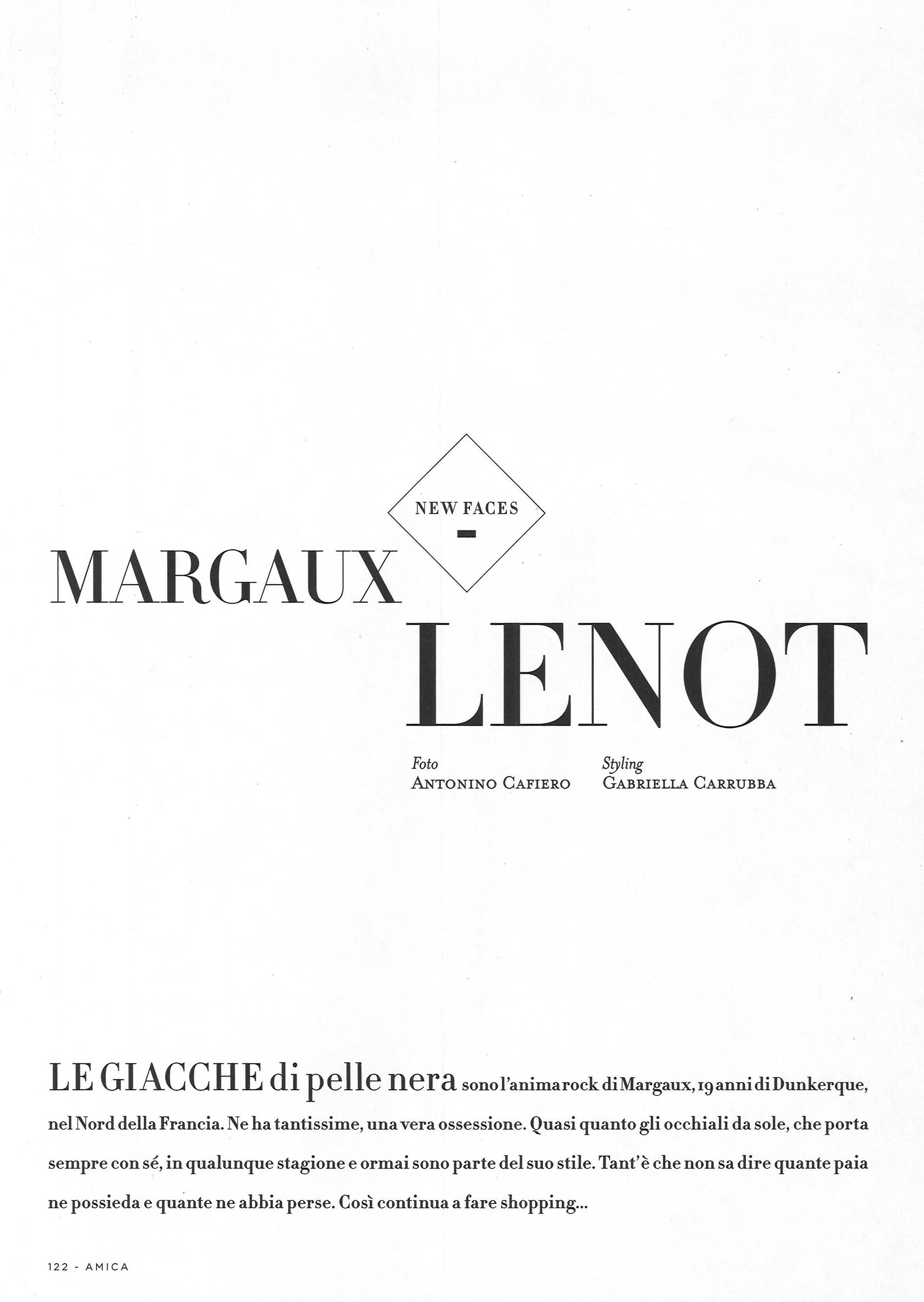 Margaux Lenot Amica July August 17 Issue Ph Antonino Cafiero