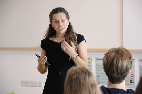 Body language workshops by Ivana
