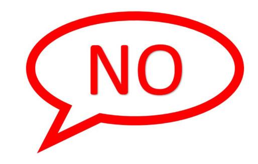 """Leadership Tip #5: Say """"No"""""""