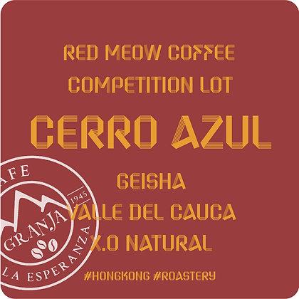 Cerro Azul  - XO Natural Geisha