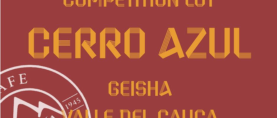 Preorder Cerro Azul  - XO Natural Geisha