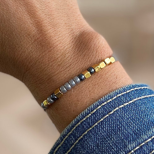 Morse armband 'dochter'