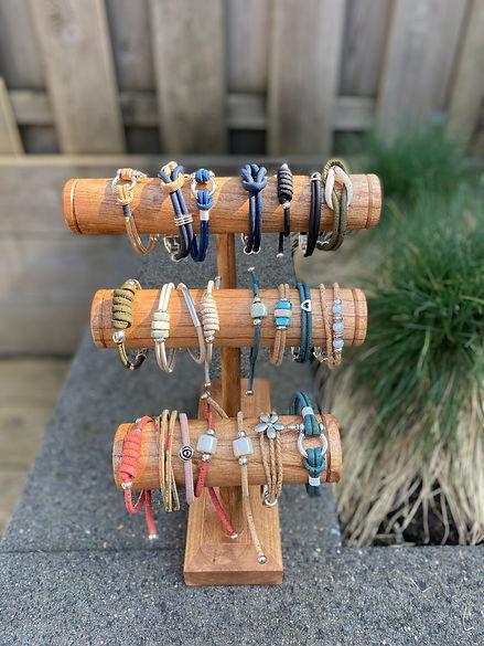Armbanden van kurkleer