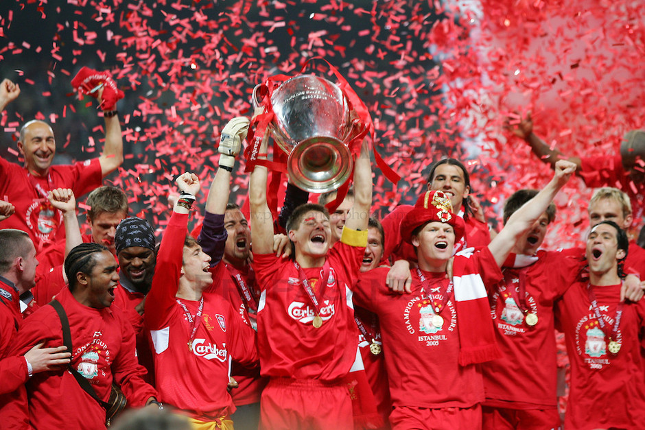 Reveniri Istorice: Milan-Liverpool
