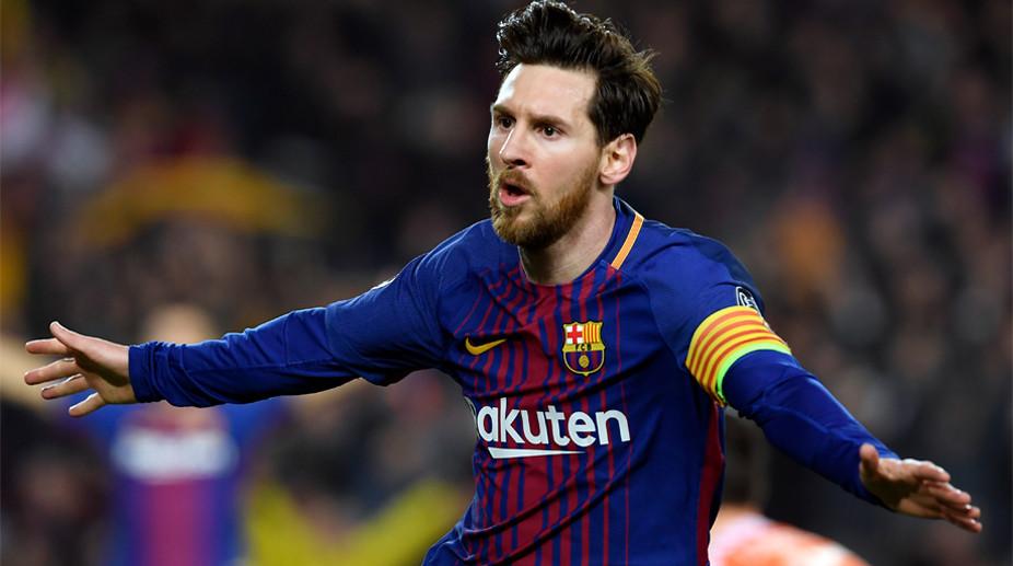 Leo Messi Si Barcelona lui Valverde