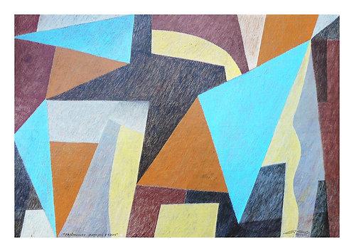 Triângulos Laranjas e Azúis - 2020