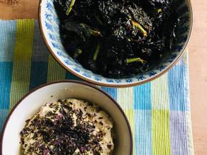 Veganer Cashewkäse mit Grünkohlchips - Rezept von Shilly