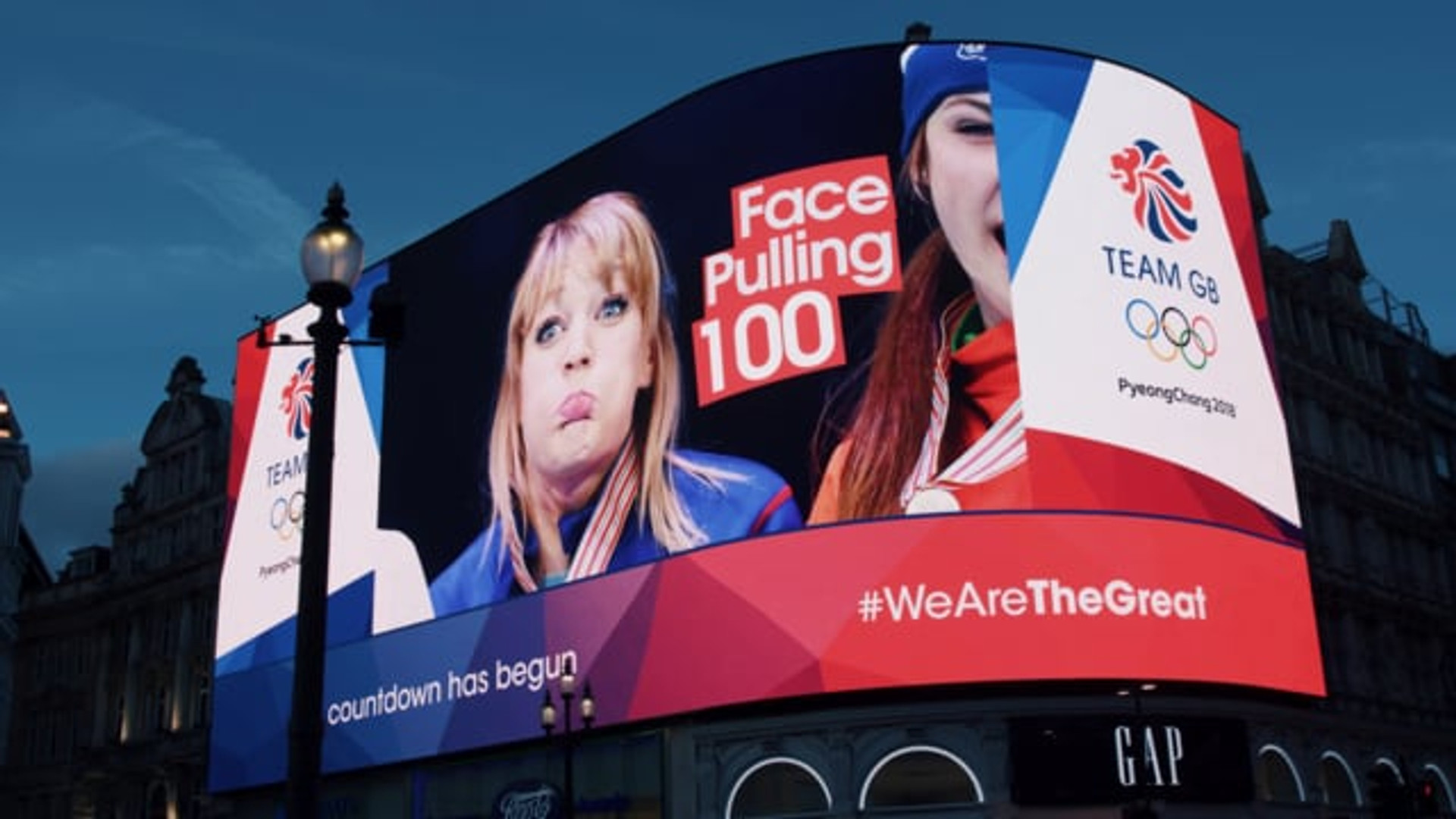 Piccadilly Lights - Team GB