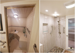 Gorgeous Shower Remodel