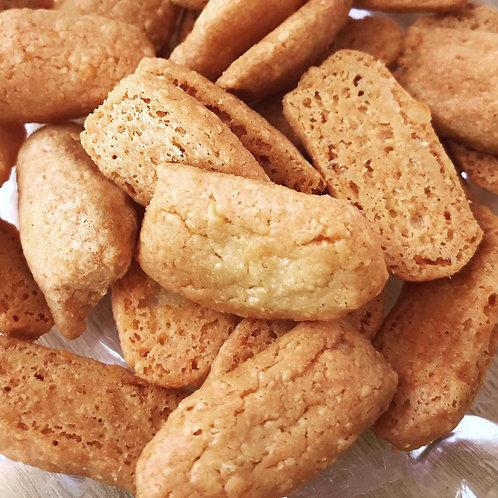 Bolachinha de Queijo Meia Cura com farinha de grão de bico