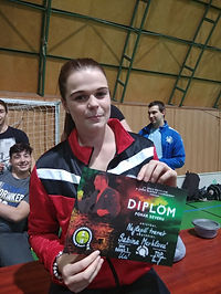 Sabina Merklová na závodech