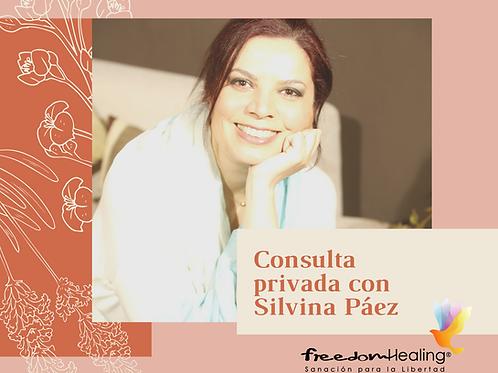 Consulta privada con Silvina Páez