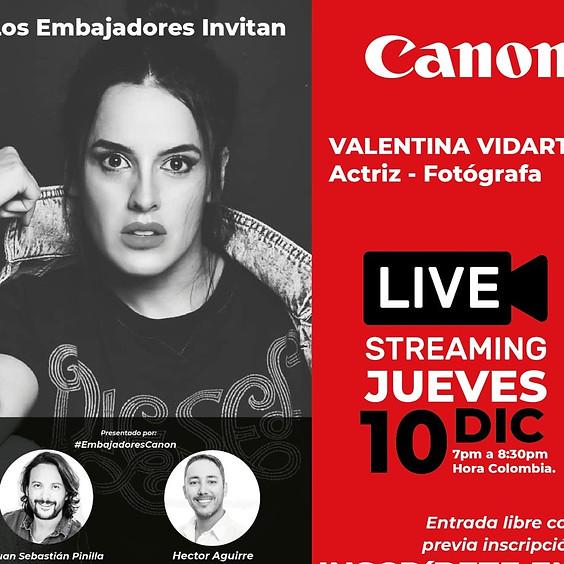 Valentina Vidarte - Actriz y Fotógrafa