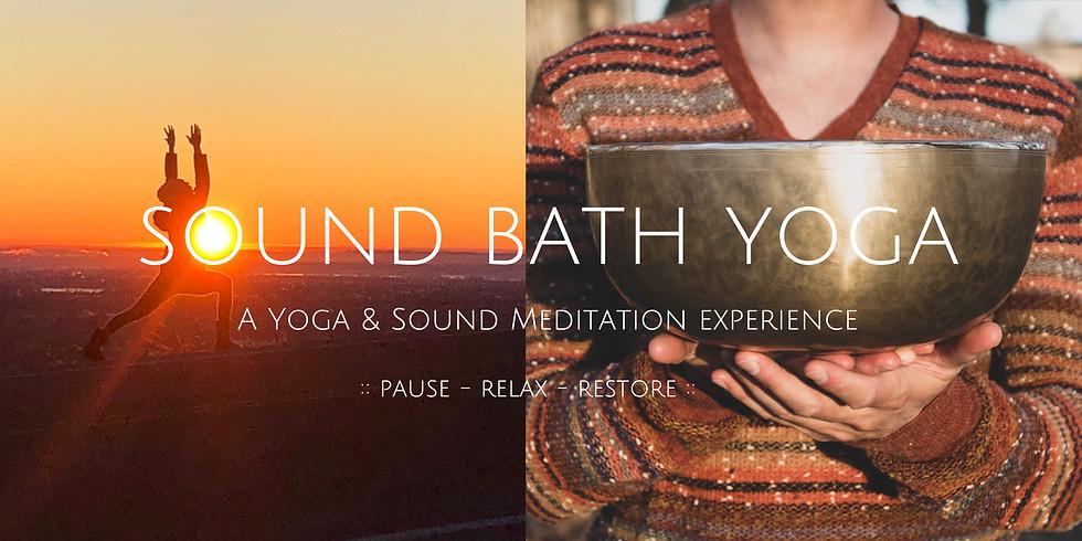 Sound Bath Yoga