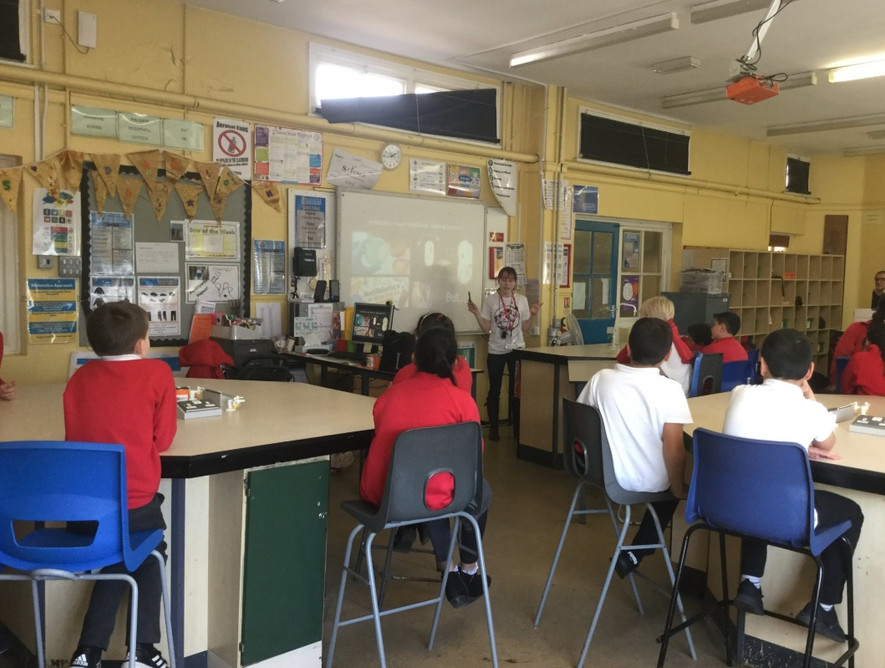 Science Sessions at Cathays High School