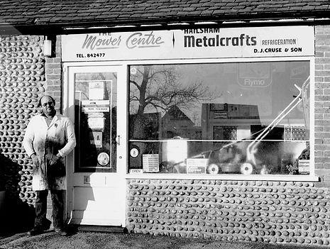 the mower centre, 1968
