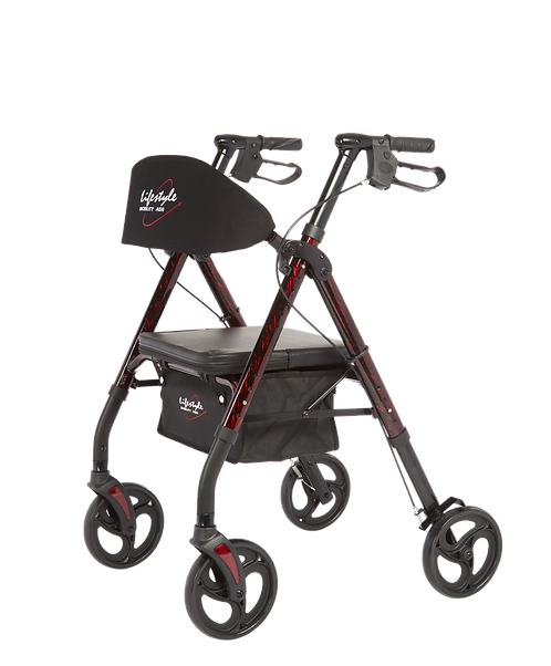 Lifestyle Royal Deluxe - Aluminum 4 Wheel with Universal Height Adjustment