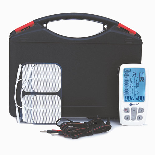 TENS/EMS/Massager Combo with Body Part Diagram