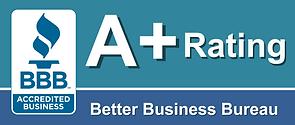 Better Business Bureau A+ Rating for R&R Construction Group