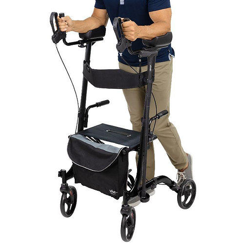 Vive Health Upright Rollator Walker