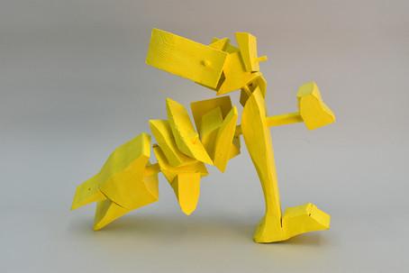 Yellow Bird Head Down 2021