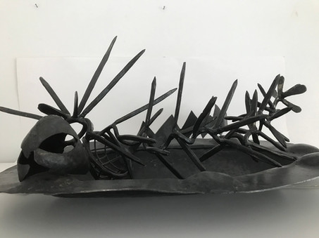 Fish, Plate And Spoon 1990