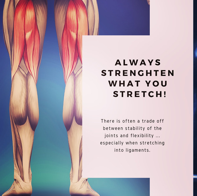 Strengthen and stretch