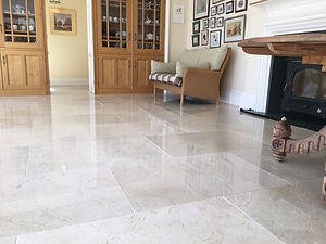 Marble kitchen floor cleaning Polishing