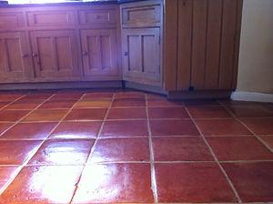 Terracotta floor cleaners Brighton Hove